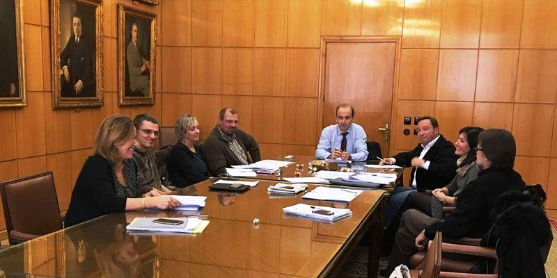 Reunión UPIT con la Dirección General de la ITSS