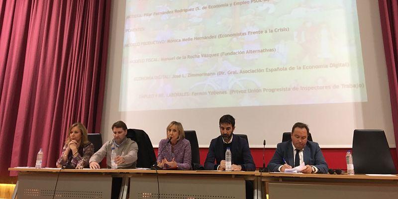 Fermín Yébenes en el I Forum socialista de Madrid
