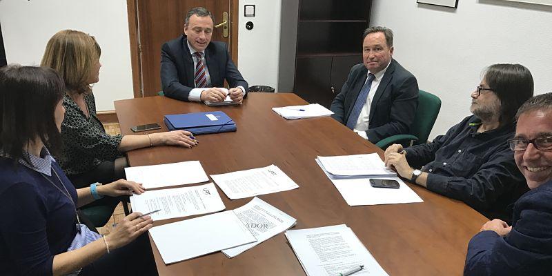 Encuentro de UPIT con el nuevo Director General de la ITSS