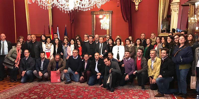 Éxito de convocatoria de las Jornadas UPIT en Compostela