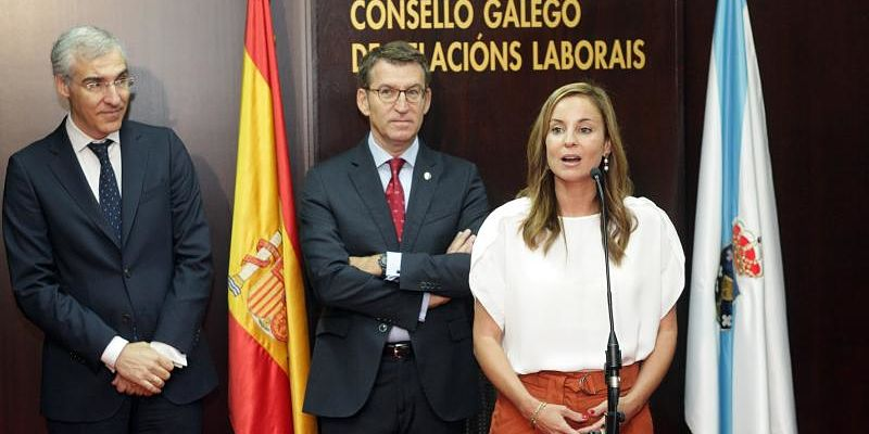 Martínez Barbero, nueva presidenta del Consello Galego de Relacións Laborais