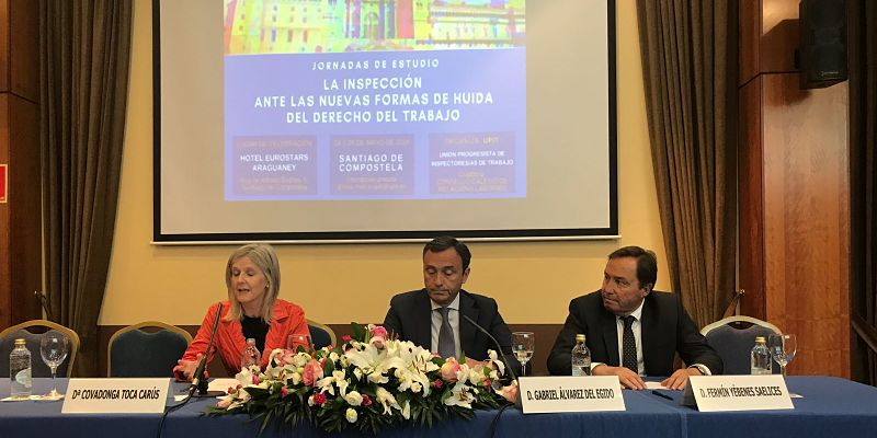 Director General ITSS clausura Jornadas UPIT en Santiago