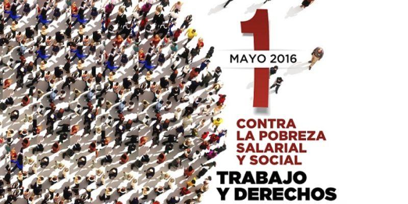 Ante el Primero de Mayo, más derechos laborales y sociales