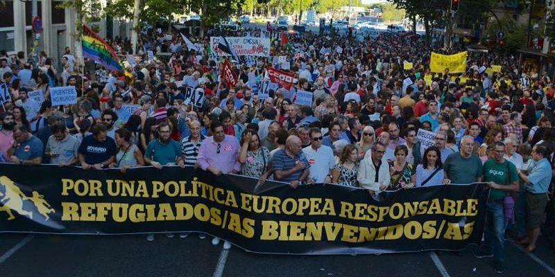 UPIT en solidaridad con las personas refugiadas