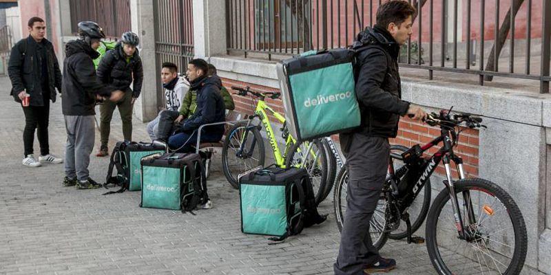 La Inspección de Trabajo rechaza el modelo laboral de Deliveroo