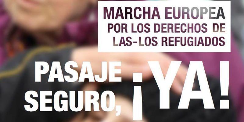UPIT apoya la Marcha Europea por los Derechos de los Refugiados